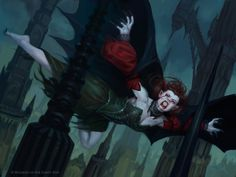 Heir to the Night - Shadows over Innistrad MtG Art