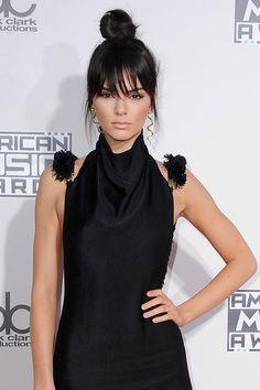 Kendall Jenner's hair bun