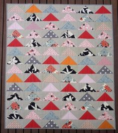 Weekend project idea: with a downloadable PDF pattern, you can make a quilt your family will cherish for generations.