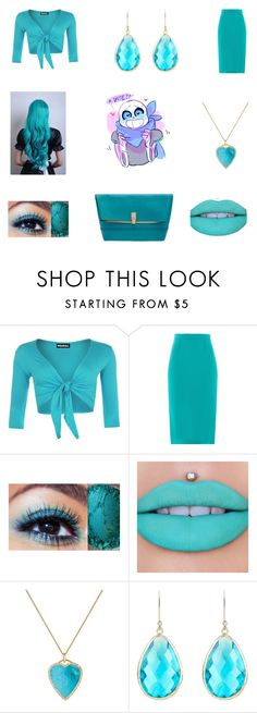 """""""AWW BLUEBERRY"""" by lily-poindexter ❤ liked on Polyvore featuring WearAll, Roland Mouret, Jeffree Star, Jennifer Meyer Jewelry, Latelita and Henri Bendel"""