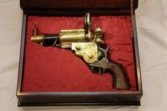 Some of this looks like an actual gun. Some was definitely steampunked.