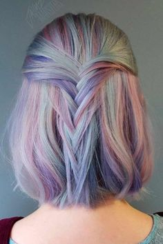 Inspiring Bold Ombre Hair Colors Ideas Trend 2018 31