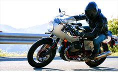retro motorcycles moto guzzi racer. Nice shot @RideApart