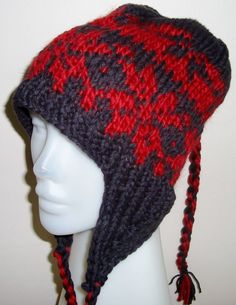 08f77f5ba8c knitted earflap hat - Google Search · Winter Hats For WomenAnimal ...