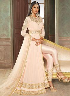 Anarkali Suits - Shop Designer Anarkali Dress Online – Page 4 – Lashkaraa Indian Outfits Modern, Indian Bridal Outfits, Pakistani Bridal Dresses, Bollywood Outfits, Bollywood Fashion, Bollywood Anarkali Suits, Fashion Pants, Fashion Dresses, Emo Fashion
