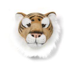 Cabeza de peluche tigre - La Fiesta de Olivia