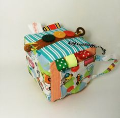 Activity toy developing cube baby toy SUPER CUBE by Agutik on Etsy