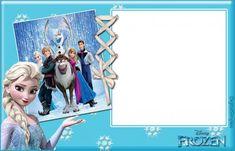 Venha comemorar meu aniversário será no dia:30/09/18 às 12:00.Na minha casa. Barbie Birthday Invitations, Frozen Invitations, Ana Frozen, Frozen Frozen, Disney Frames, Frozen Birthday Theme, Invitation Layout, Frozen Heart, Disney Scrapbook