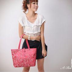 New Fashion Love Printing Temperament Women Bag