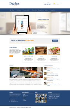 Dignitas from ThemeForest - a awesome wordpress theme.