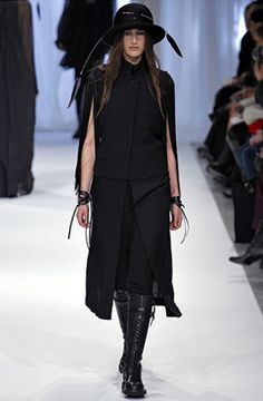 Ann Demeulemeester Fall 2013 Collection
