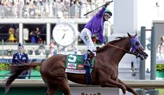 When no one said he could…...California Chrome pulls away for win at Kentucky Derby