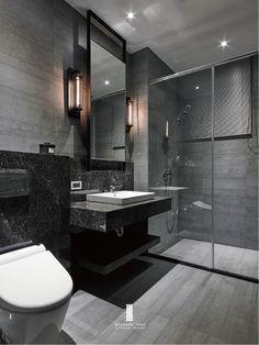 Modern Luxury Bathroom, Bathroom Design Luxury, Modern Bathroom Design, Small Luxury Bathrooms, Dream House Interior, Dream Home Design, Home Interior Design, Wc Design, Design Case