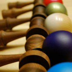 The new walnut kendama line by BLK Kendama.