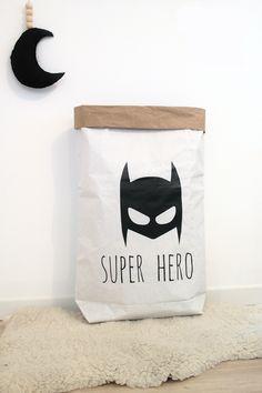 PAPER BAG super héro, pour une chambre rangée et stylée !