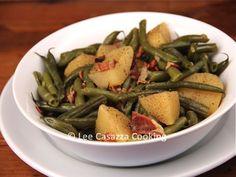 Izetta's Southern Cooking: IZETTA'S SOUTHERN-STYLE GREEN BEANS & POTATOES