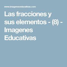 Las fracciones y sus elementos - (8) - Imagenes Educativas