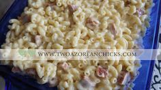 FUSION FRIDAY: Portuguese Macaroni and Cheese