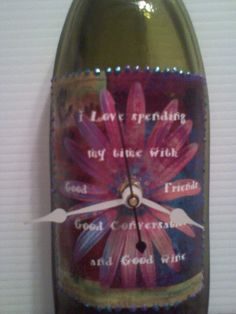 Wine  Brides maids Wedding Gift   Melted Wine by Collectivekayos, $20.00