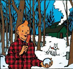 Tintin in Quebec disponible ici - http://livre.fnac.com/a3077450/Tristan-Demers-Tintin-au-Quebec-Herge-au-coeur-de-la-Revolution-tranquille   http://www.librairieduquebec.fr/livres/tintin-quebec-herge-coeur-revolution-tranquille-9782896470808.html