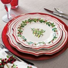 Holly and Pine Dinnerware on shopstyle.com