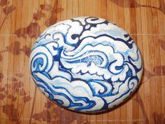 Tibetan cloud rock. $15.00, via Etsy.