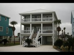 This gorgeous home is located in the gated gulf front community at Beachside Romar. Just steps from the beach and in the heart of Orange Beach this 5 bedroom 4 bath home is the perfect vacation destination. Subdivision amenities include pool tennis courts gazebo and dune walk to the beach. Enjoy waterfront views from the upper and lower decks. This is one place you will never want to leave