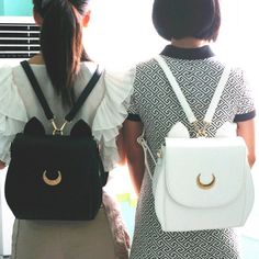 """Material:pu Color:black,white,gray,  Size:free+size 28cm*9cm*+31cm/10.92""""*+3.51""""*12.09""""  Tips: *Please+double+check+above+size+and+consider+your+measurements+before+ordering,thank+you+  ^_^  Visiting+Store: Http://cuteharajuku.storenvy.com  Find+more+cute+fashion+things,+some+suit+f..."""
