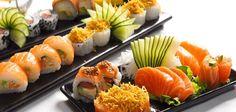 Sushi rolls. Sushi club