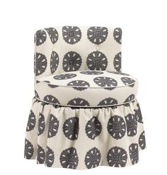 U-3064-0720 Amelie Vanity Stool available at French Heritage