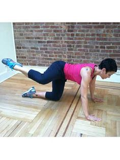 6 exercises to tone your butt #fitness