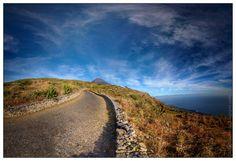 Nome:  Estrada para Tinteira  Localização:  Cabo Verde, Fogo, Santa Catarina, Cova Figueira   Séria: Natureza  Comentários:  Uma caminhad...