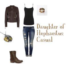 """Daughter of Hephaestus"" by sweetniknak on Polyvore"