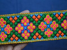Indian Laces Embellishments Sari Border Trimmings Crafting Sewing Trim  You can purchase from below link or What's App no. is +91-9999684477. We also take wholesale inquiries  http://shopofembellishments.com/tri2410-decorative-trim-by-the-yard-indian-laces