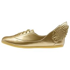 adidas Jeremy Scott Wings Easy Five Gold Mirror Shoes