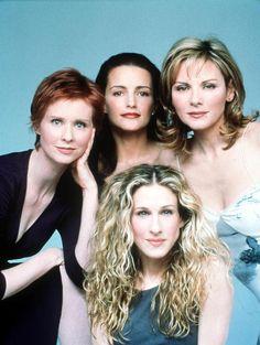 My girls! Carrie, Miranda, Charlotte, and Samantha