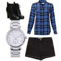 Untitled #390 by evanmonster on Polyvore featuring polyvore fashion style Equipment Zara Michael Kors