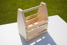 How to Craft Your Own Wood Beer Caddy | eHow