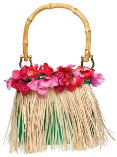 Hula Girl Handbag - Hawaiian Costumes
