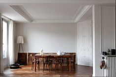 Parisian apartment, the guardian magazine