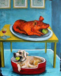 Dana Ellyn, artiste peintre activiste pour la cause animale – Magazine vegan – Lausanne Genève Sion Fribourg Neuchâtel Suisse – cuisine santé actualités animaux véganisme végétalisme