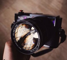 Fat lens, the F0.95 50mm on a Leica M9