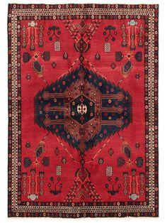 Tapis persans - Afshar  Dimensions:223x158cm