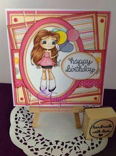 Time for Tea Designs: Birthday Balloons