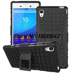 Tire Style Tough Rugged Dual Layer Hybrid Hard KickStand Armor Case for Sony Xperia M4 Kick Stand Duty Armor Mobile Phone Bags | Price: US $4.28 | http://www.bestali.com/goto/32345644592/10