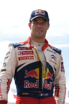 Sebastien Loeb is a French rally driver, the nine-time world champion and rightfully considered the best rally driver of all times. Rally Dakar, Rally Drivers, Car Head, Citroen Car, Red Bull Racing, Porsche Carrera, Car And Driver, Courses, Le Mans