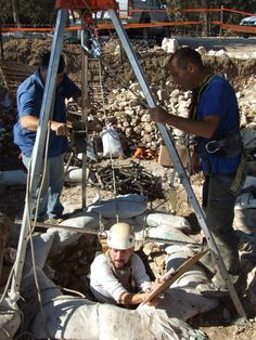One of the First wells have been discovered to the Stone Age: The Well was Used by the First Farmers in the Jezreel Valley. A Mystery Arose during the Excavations: What were Two 8,500 Year Old Human Skeletons Doing at the Bottom of the Well? The excavation was directed by the Israel Antiquities Authority prior to enlarging Ha-Yogev Junction by the National Roads Company. The well will be conserved and displayed to the public.