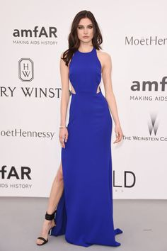 Jacquelyn Jablonski. See what all the stars wore at the Cannes amfAR gala.