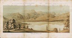 Ansicht der Giswyler Berge vom Niederdorfhubel bei Sachseln. Ans_01228