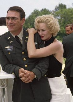 "Jessica Lange and Tommy Lee Jones in ""Blue Sky""  (1994)"